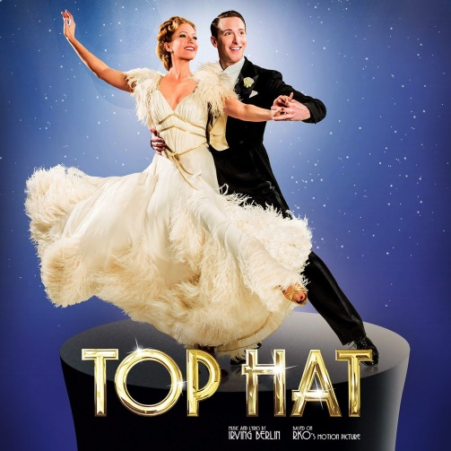 Top Hat UK Tour Charlotte Gooch Alan Burkitt Fred and Ginger