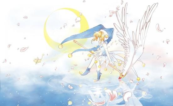 Konachan_com - 39456 card_captor_sakura cherry_blossoms kinomoto_sakura