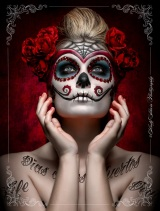 Death (and sex) in Mexico by Marcus Sedgwick#SaintDeath