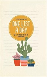 Listography: One List a Day: A Three-Year Journal by Lisa Nola