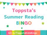 Toppsta's Summer Reading Bingo #ToppstaKidsBingo