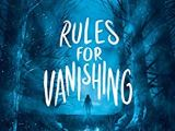 Rules for Vanishing by Kate AliceMarshall